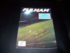 Fulham v Tranmere Rovers, 1990/91